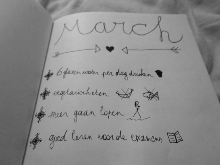 Goals maart